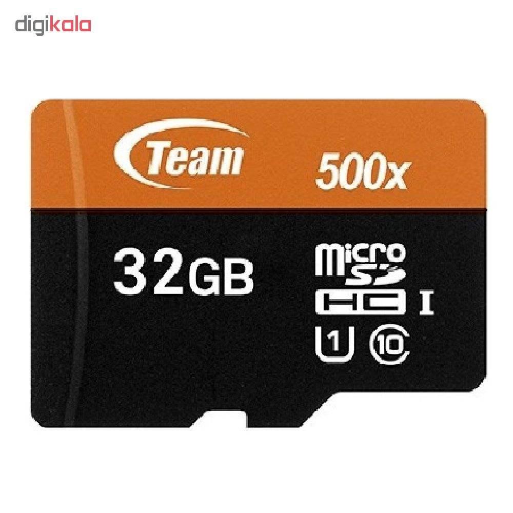 کارت حافظه microSDHC تیم گروپ مدل IPM کلاس 10 استاندارد UHS-I سرعت 80MBps ظرفیت 32 گیگابایت به همر