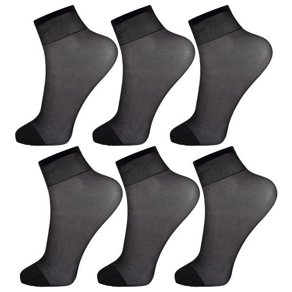 جوراب زنانه پنتی کد RG-PF 151-6 بسته 6 عددی