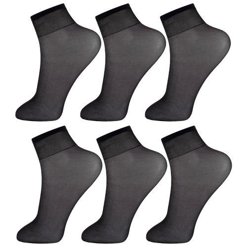 جوراب زنانه پنتی کد RG-PF 051-6 مجموعه 6 عددی