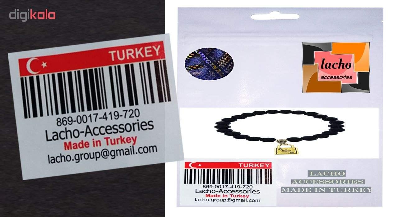 دستبند زنانه لاچو طرح قفل کد 2019 سایز Free Size main 1 4