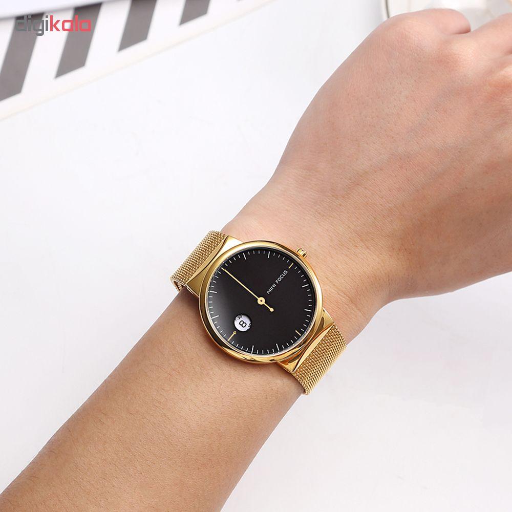 ساعت مچی عقربه ای مردانه مینی فوکوس مدل Mf0182g.04