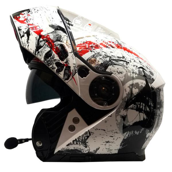 کلاه کاسکت بلوتوثدار راپیدو مدل B-Skull950