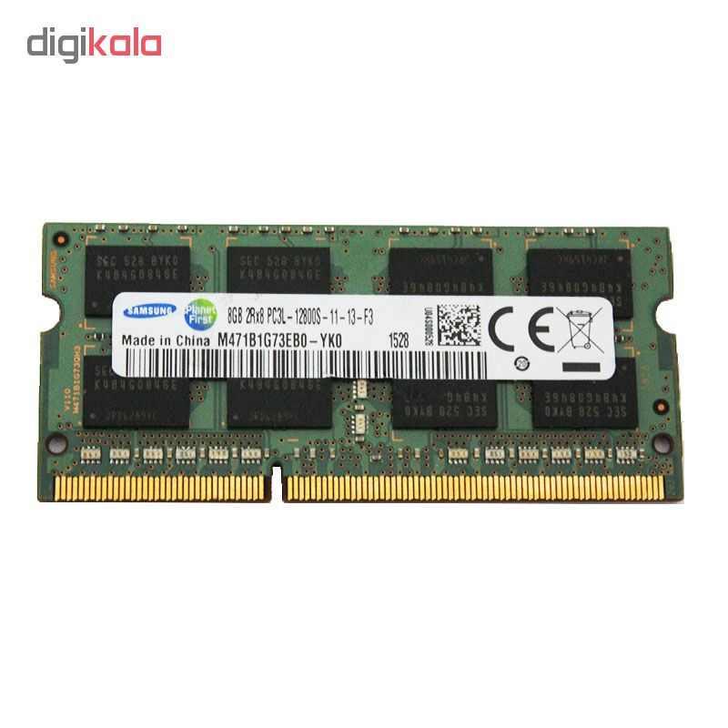 رم  لپ تاپ DDR3  تک کاناله ۱۶۰۰ مگاهرتز  CL11 سامسونگ مدل PC3L ظرفیت 8 گیگابایت