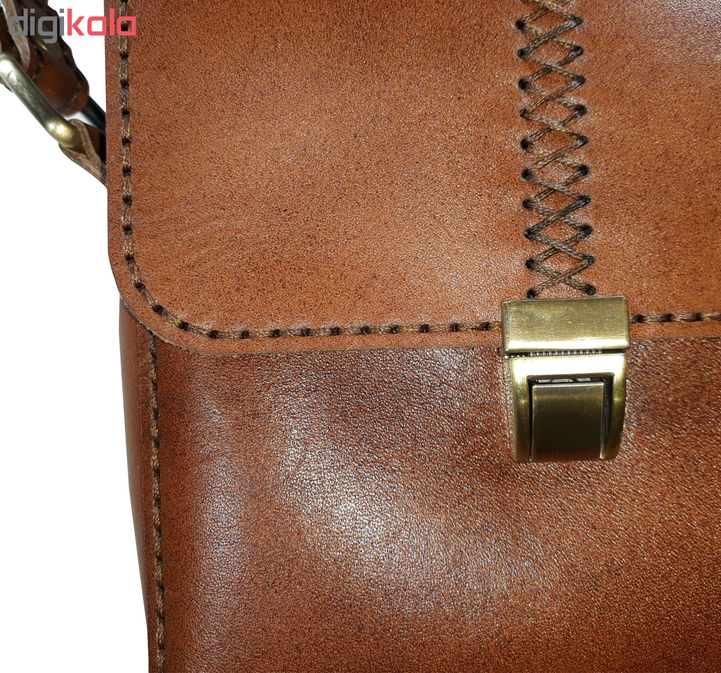 کیف چرمی مدل 004