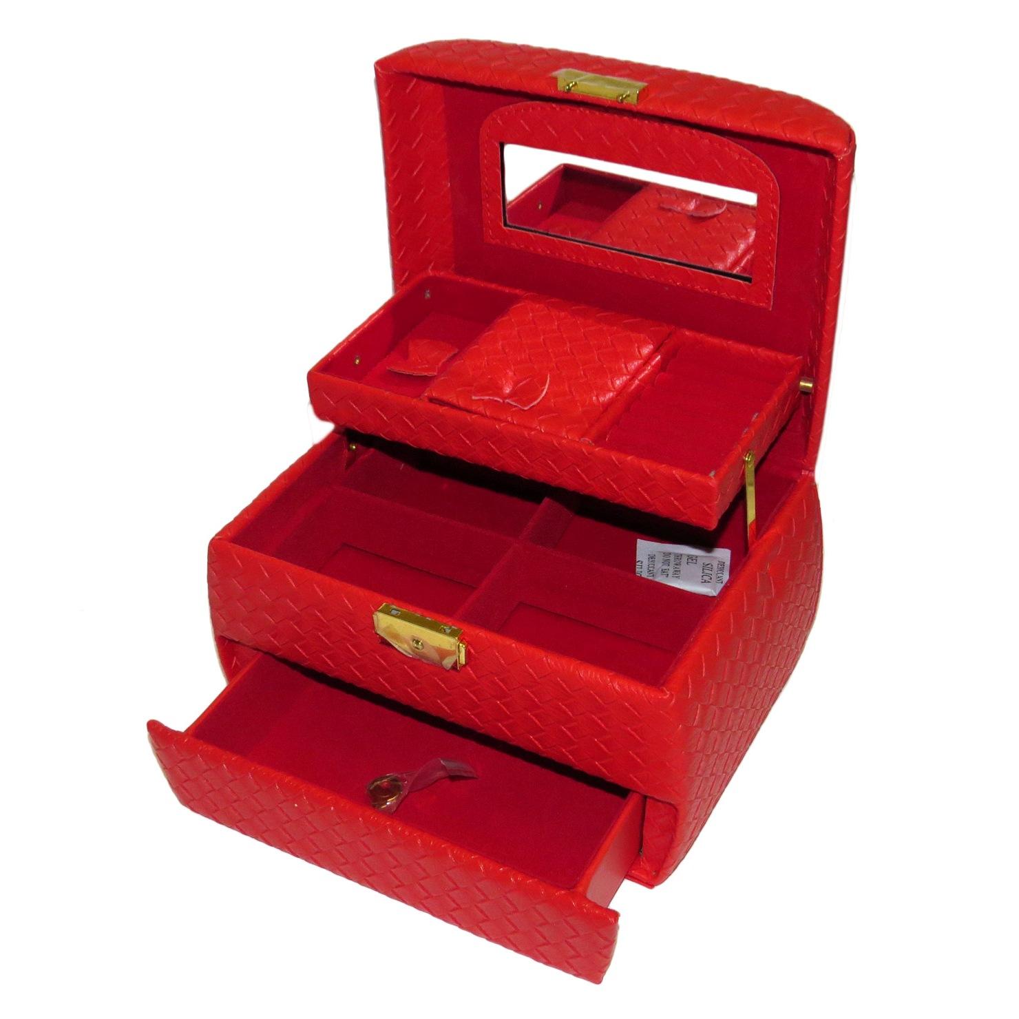قیمت جعبه جواهرات زنانه کد AH_3355