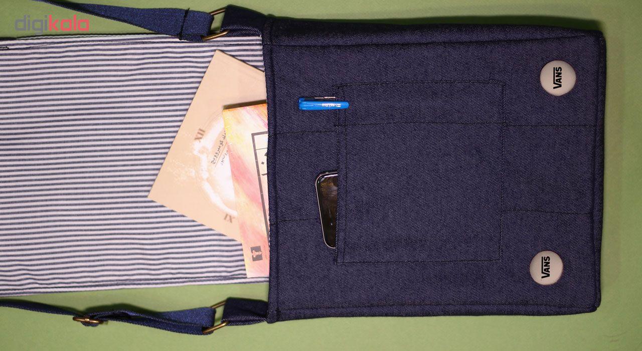 کیف دوشی دخترانه گالری چی چاپ طرح کفش
