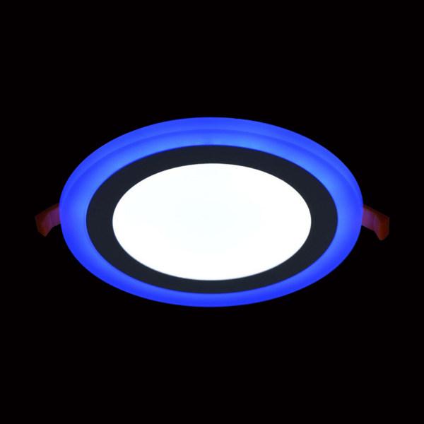 پنل LED توکار روژ مدل هالوژنی سه حالته SMD 3+1 گرد