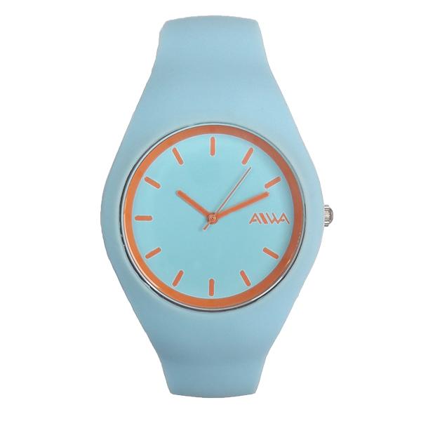 ساعت مچی عقربه ای زنانه آیوا مدل AIWA9338 / AB-NAR به همراه دستمال مخصوص نانو برند کلیر واچ 17