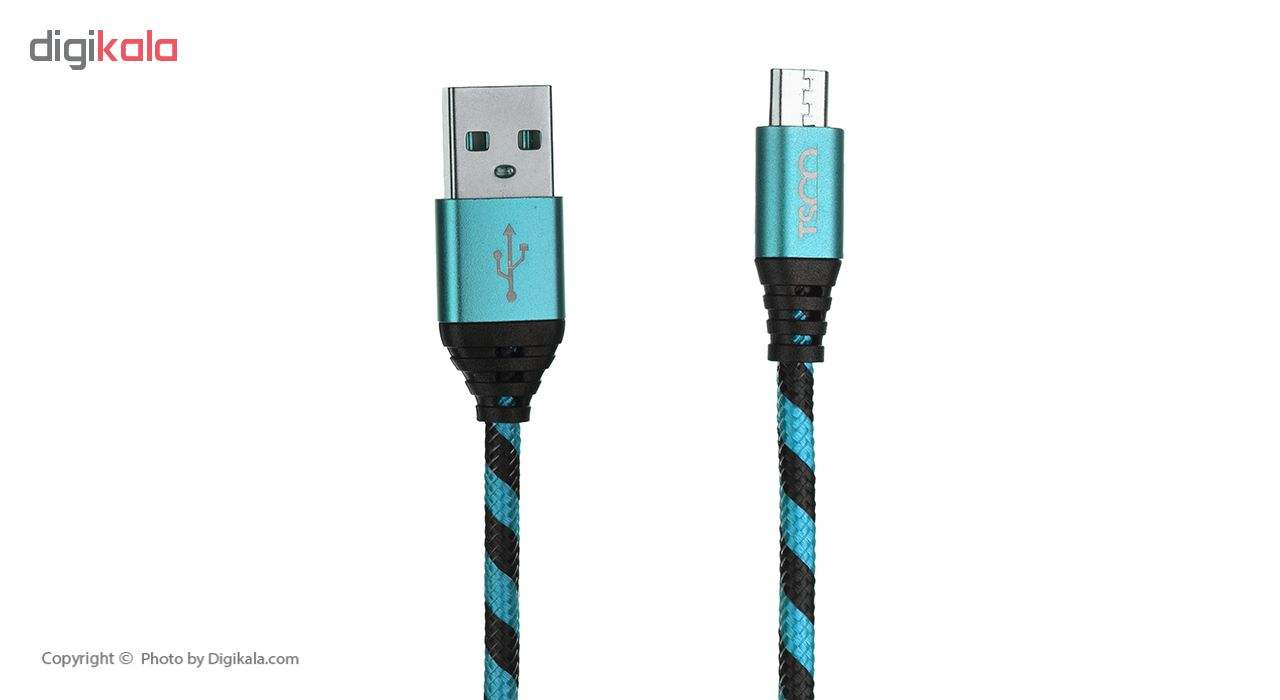 کابل تبدیل USB به microUSB تسکو مدل TC 49 طول 1 متر main 1 1