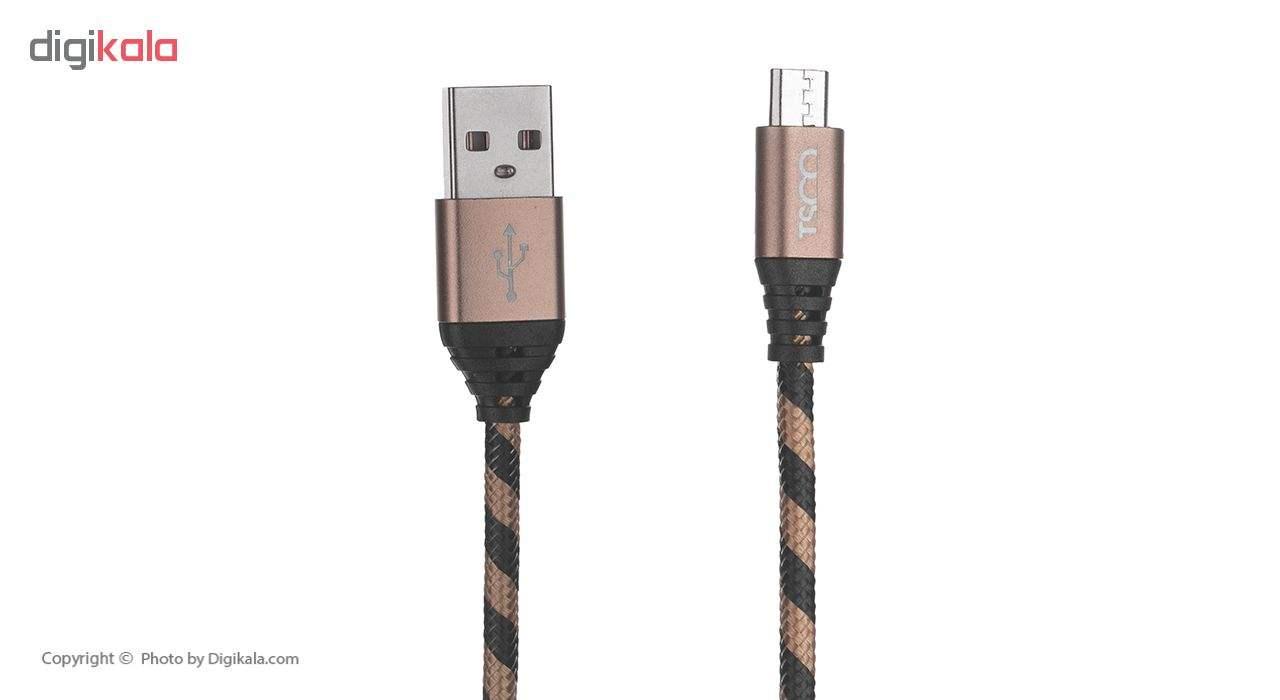 کابل تبدیل USB به microUSB تسکو مدل TC 49 طول 1 متر main 1 4