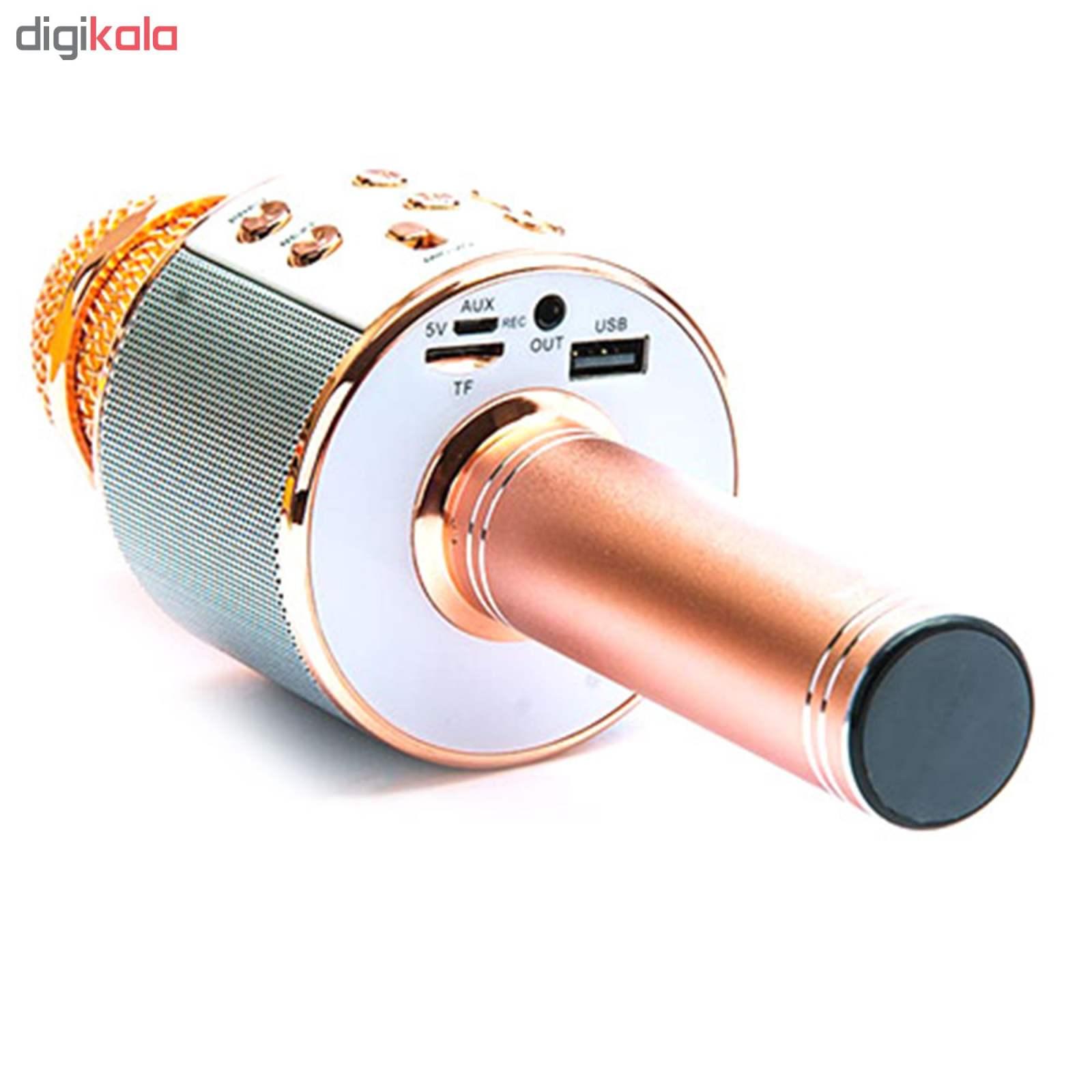 میکروفن بلوتوث وستر مدل WS-858 thumb 4