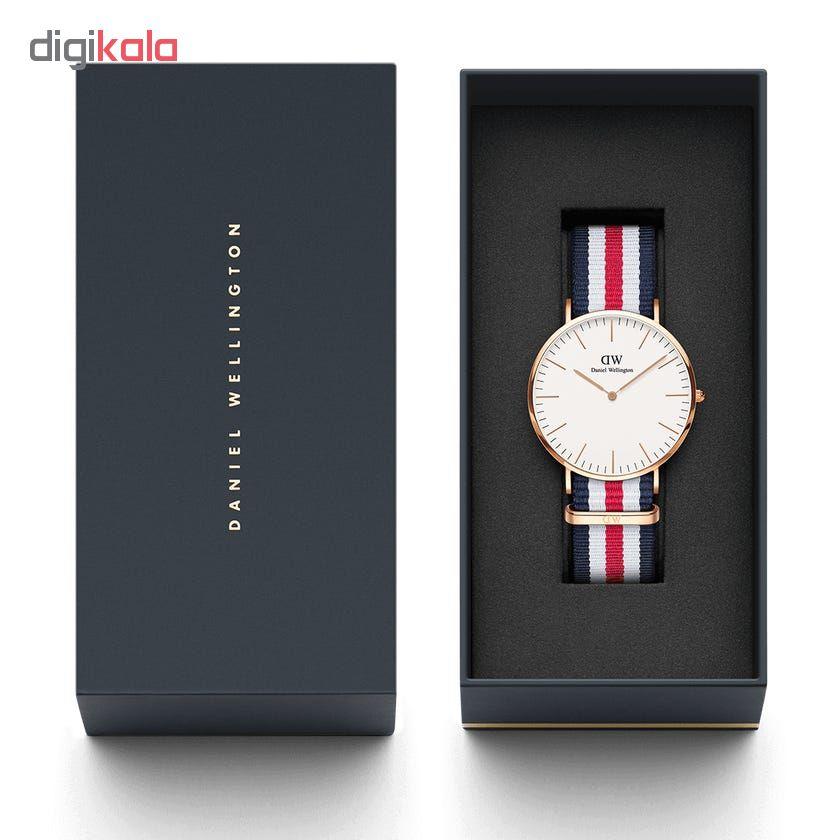 خرید ساعت مچی عقربه ای مردانه مدل کانتربری کد DW-1206