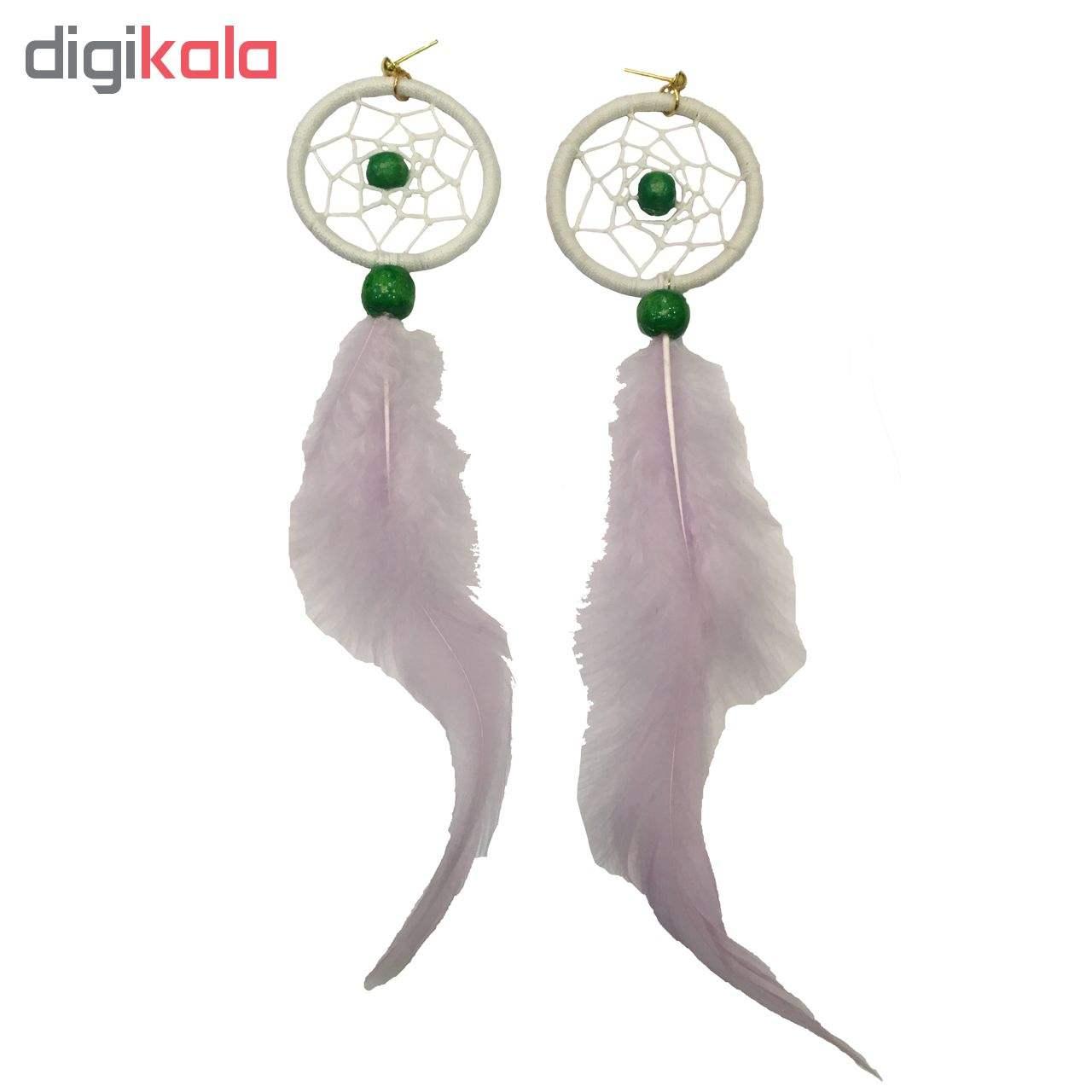 گوشواره زنانه طرح دریم کچر مدل SD 008 main 1 3