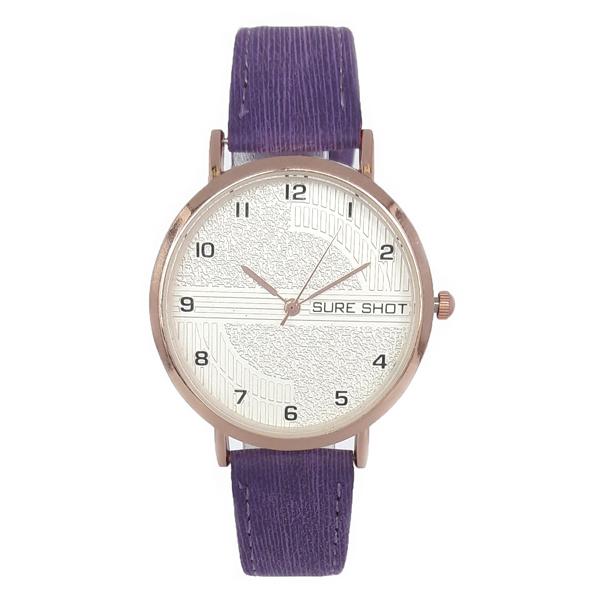خرید ساعت مچی عقربه ای زنانه سوری شات مدل SUR 9988 / BAN به همراه دستمال مخصوص نانو کلیر واچ