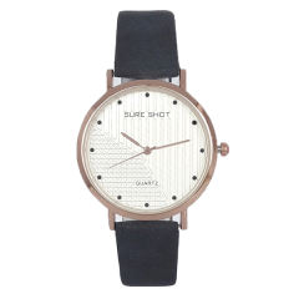 ساعت مچی عقربه ای زنانه سوری شات مدل SUR 9955 / SO به همراه دستمال مخصوص نانو کلیر واچ