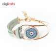 دستبند زنانه طرح چشم نظر کد 1LSD46 thumb 2