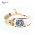دستبند زنانه طرح چشم نظر کد 1LSD46 thumb 1
