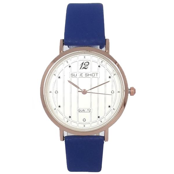 ساعت مچی عقربه ای زنانه سوری شات مدل SUR 9933 / AB به همراه دستمال مخصوص نانو کلیر واچ