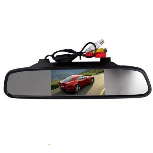 آینه مانیتور دار و دوربین دنده عقب تی تی ان مدل CPS08