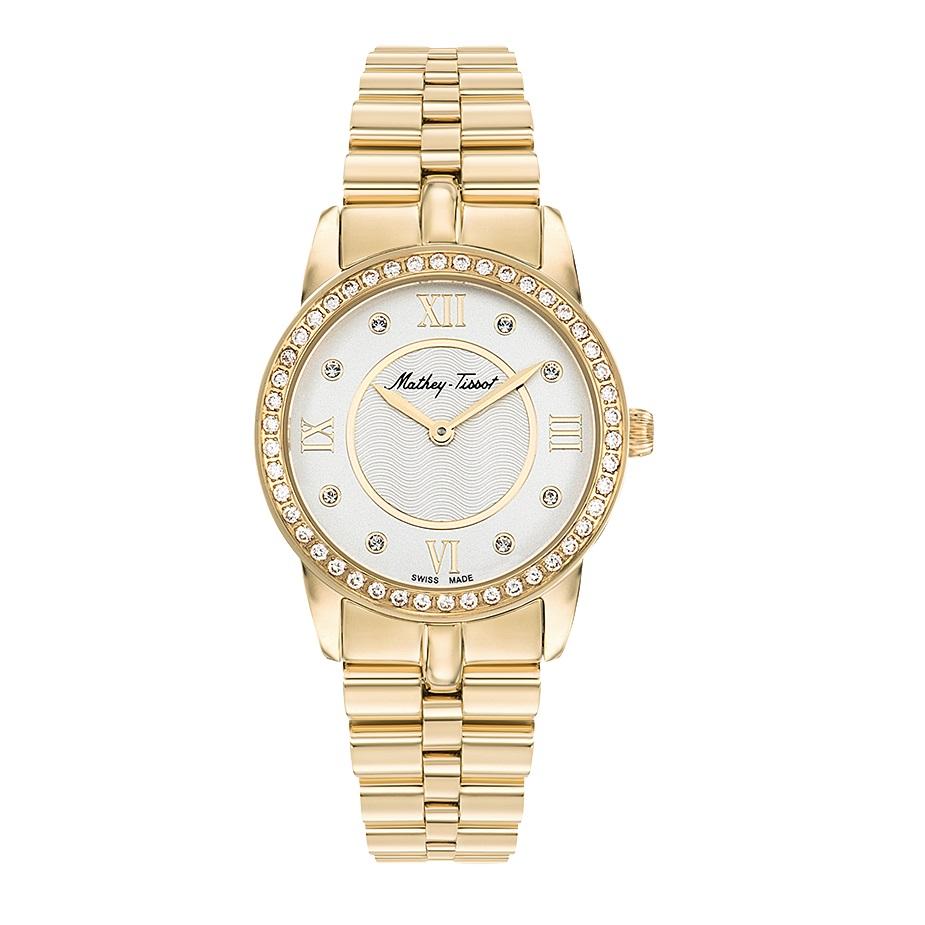 خرید ساعت مچی عقربه ای زنانه متی تیسوت مدل D1086PQYI