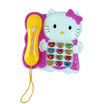 بازی آموزشی طرح تلفن مدل  Hello Kitty