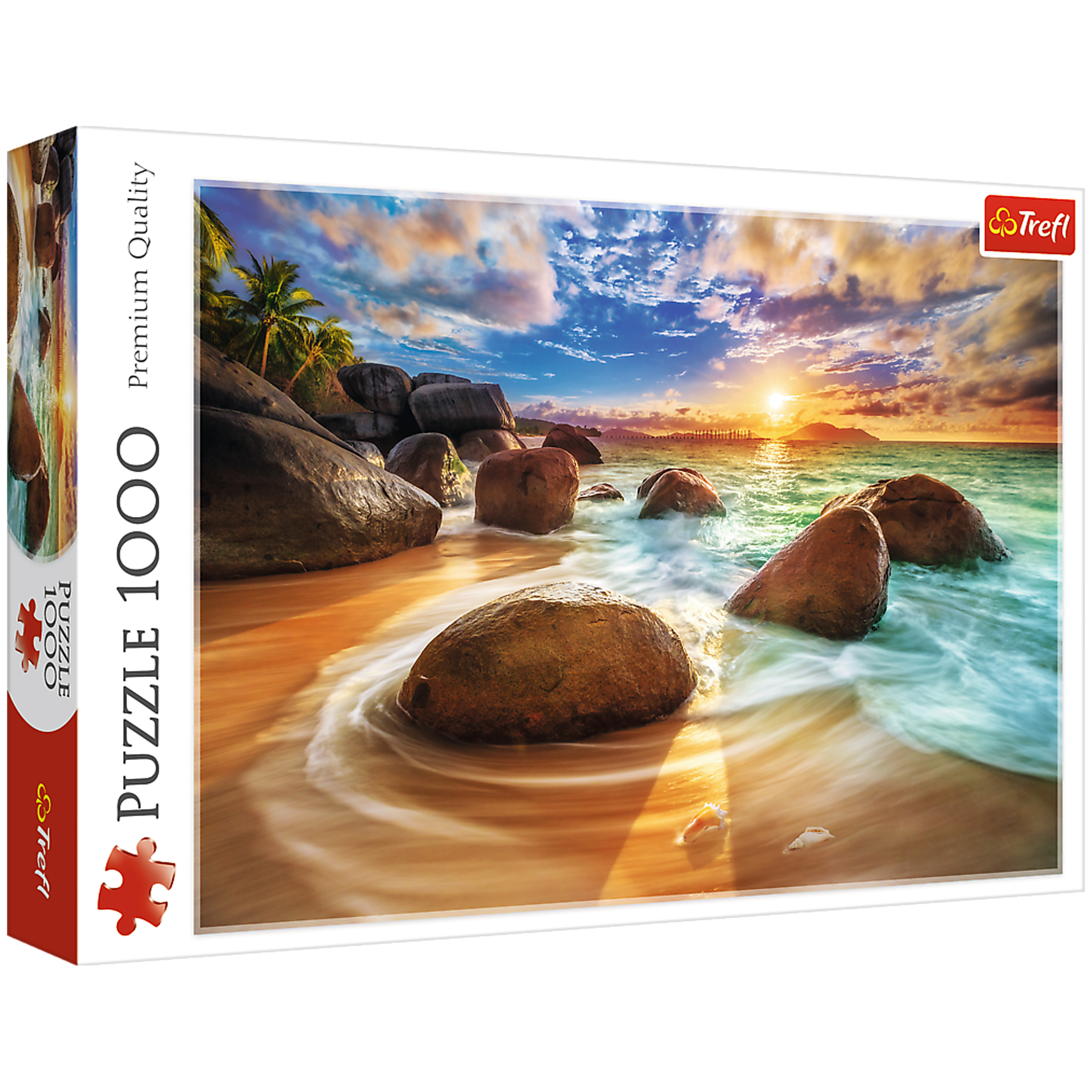 پازل 1000 تکه تریفل مدل India Samudra Beach