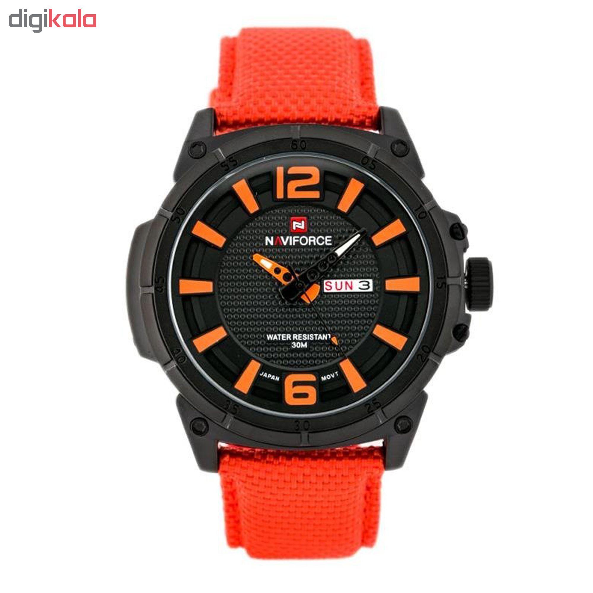 خرید ساعت مچی عقربه ای مردانه نیوی فورس مدل NF9066/BOO