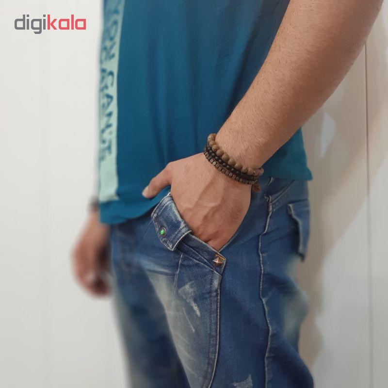 دستبند مردانه شادونه مدل sh94wo