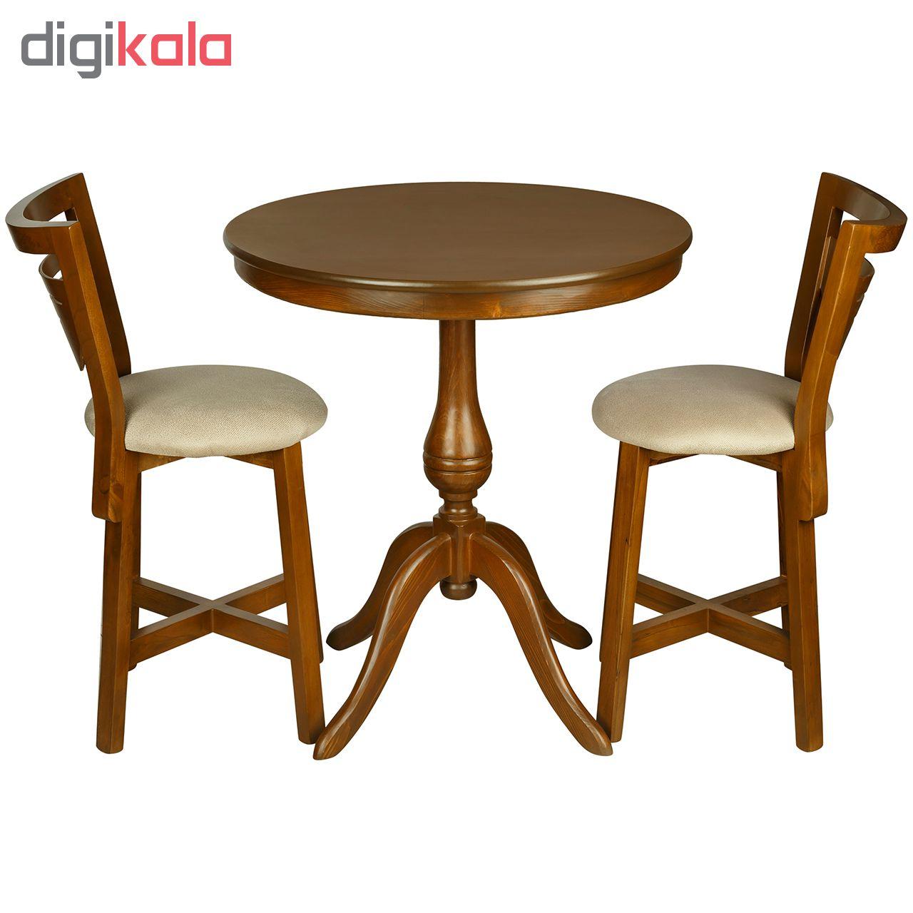 میز و صندلی ناهار خوری چشمه نور کد MA-6042