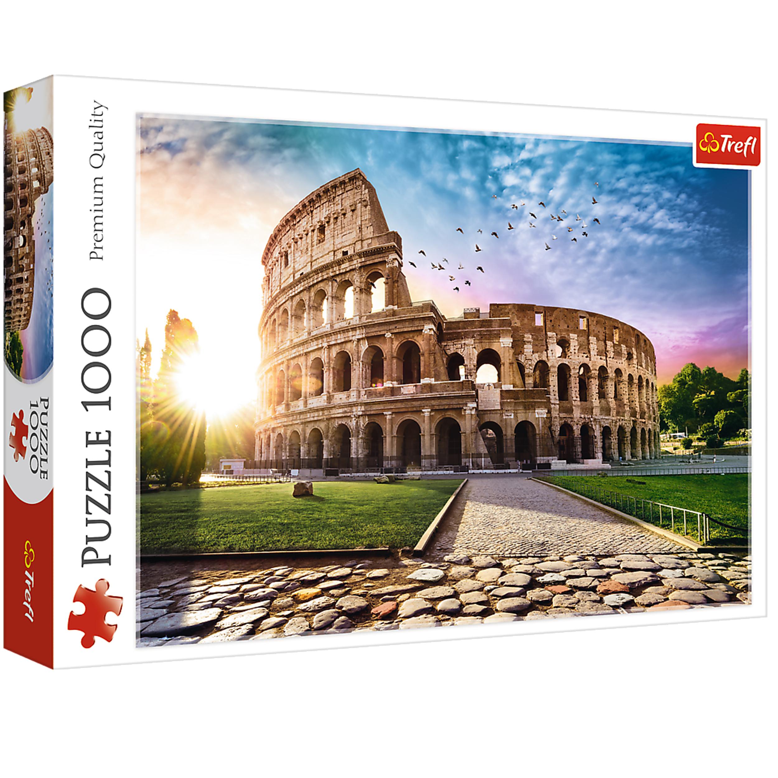 پازل  1000 تکه تریفل مدل Colosseum Roma