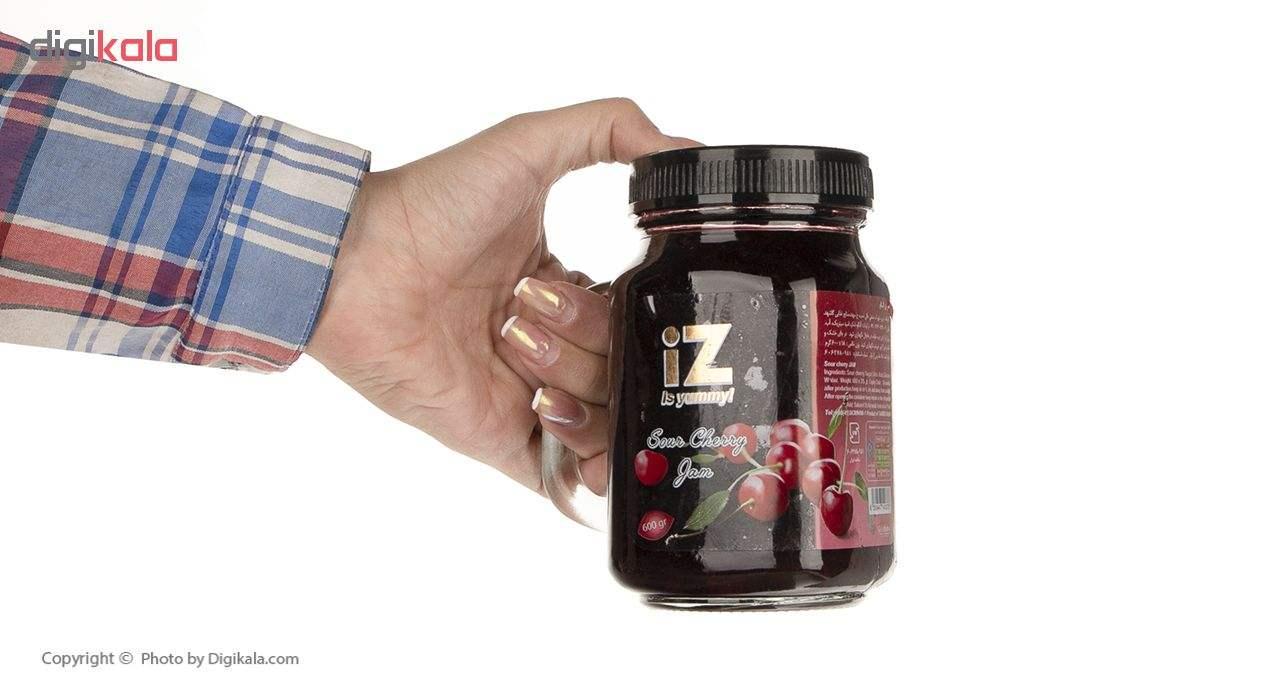 مربای توت فرنگی ایز - 600 گرم main 1 5