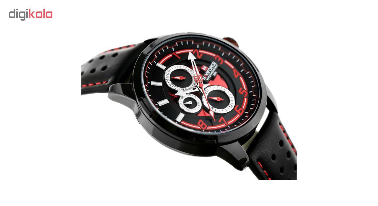 ساعت مردانه نیوی فورس مدل NF9142/BRB