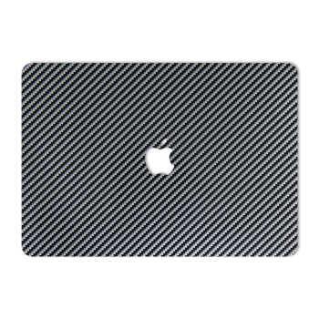 برچسب پوششی ماهوت مدل Silver Shine Carbon مناسب برای لپ تاپ Macbook 12inch Retina