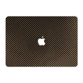 برچسب پوششی ماهوت مدل Brown Shine Carbon مناسب برای لپ تاپ Macbook 12inch Retina