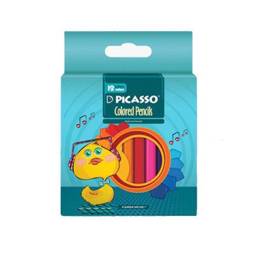 مداد رنگی 12 رنگ  پیکاسو مدل 115