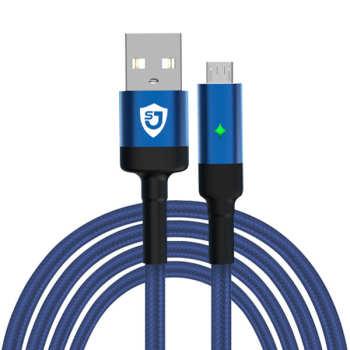 کابل تبدیل USB به microUSB شانگژی مدل SJ-CB-12 طول 1 متر