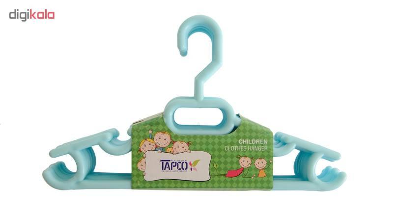 چوب لباسی نوزاد تاپکو کد T202-BL بسته 6 عددی