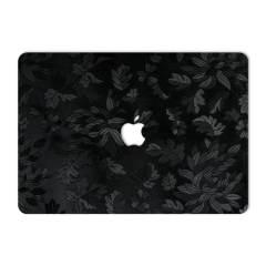 برچسب پوششی ماهوت مدل Black Wild-Flower مناسب برای لپ تاپ اپل Macbook Pro 2016 15inch Retina