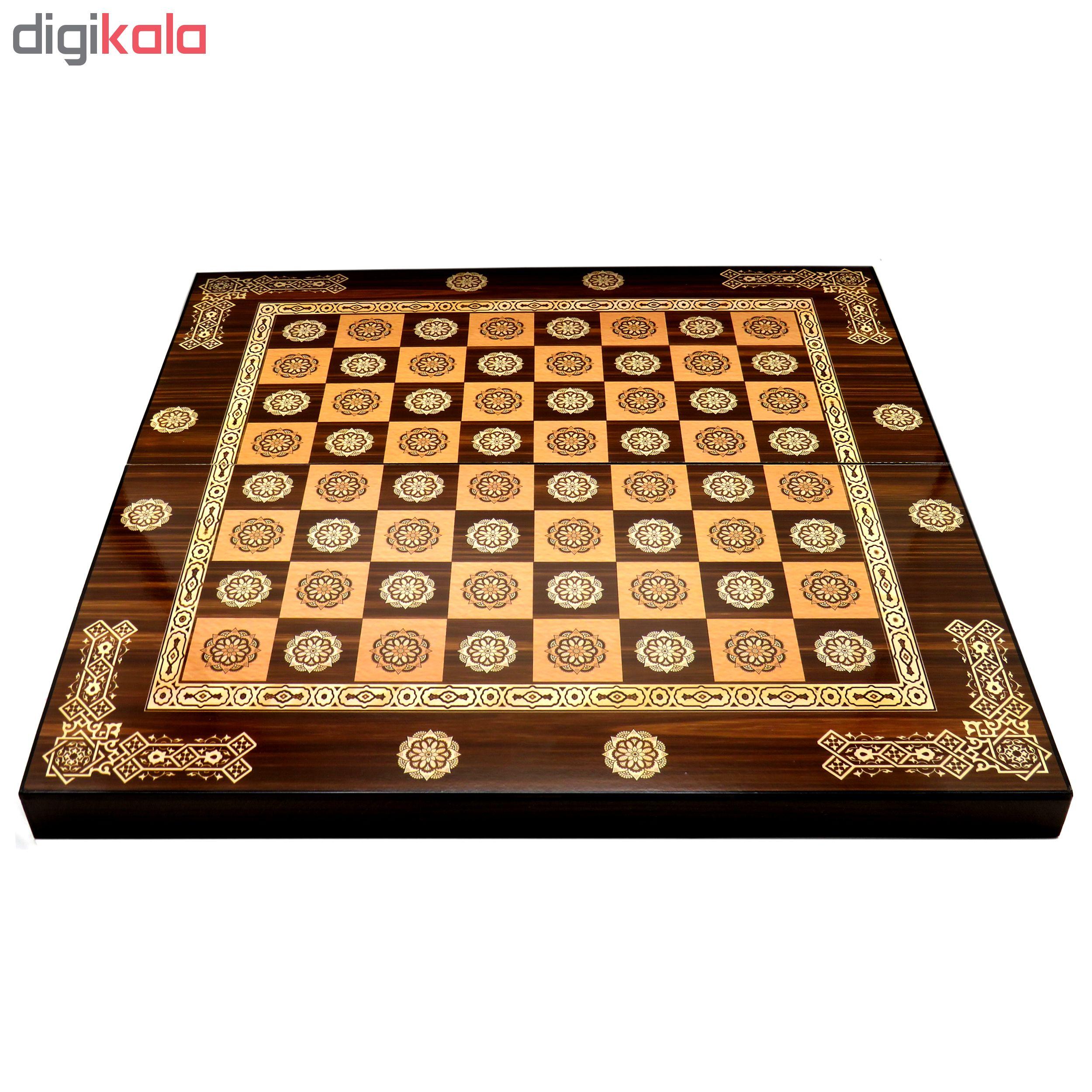 صفحه شطرنج و تخته نرد مدل Venos-10B