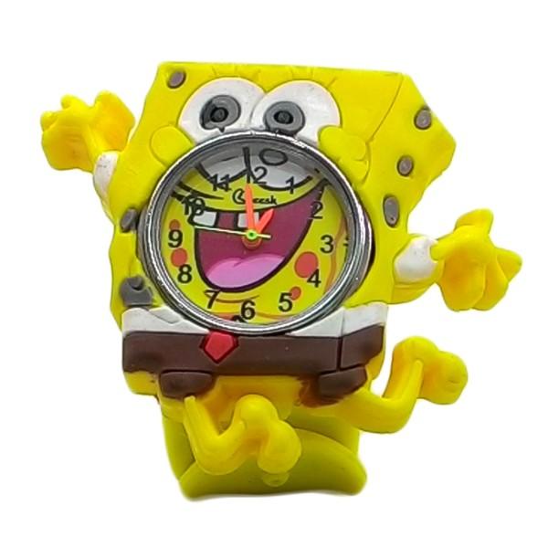ساعت مچی عقربه ای پسرانه مدل SpongeBob01