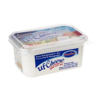 پنیر تازه سفید دومینو وزن 400 گرم