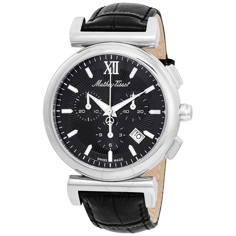 ساعت مچی عقربه ای مردانه متی تیسوت مدل  H410CHALN