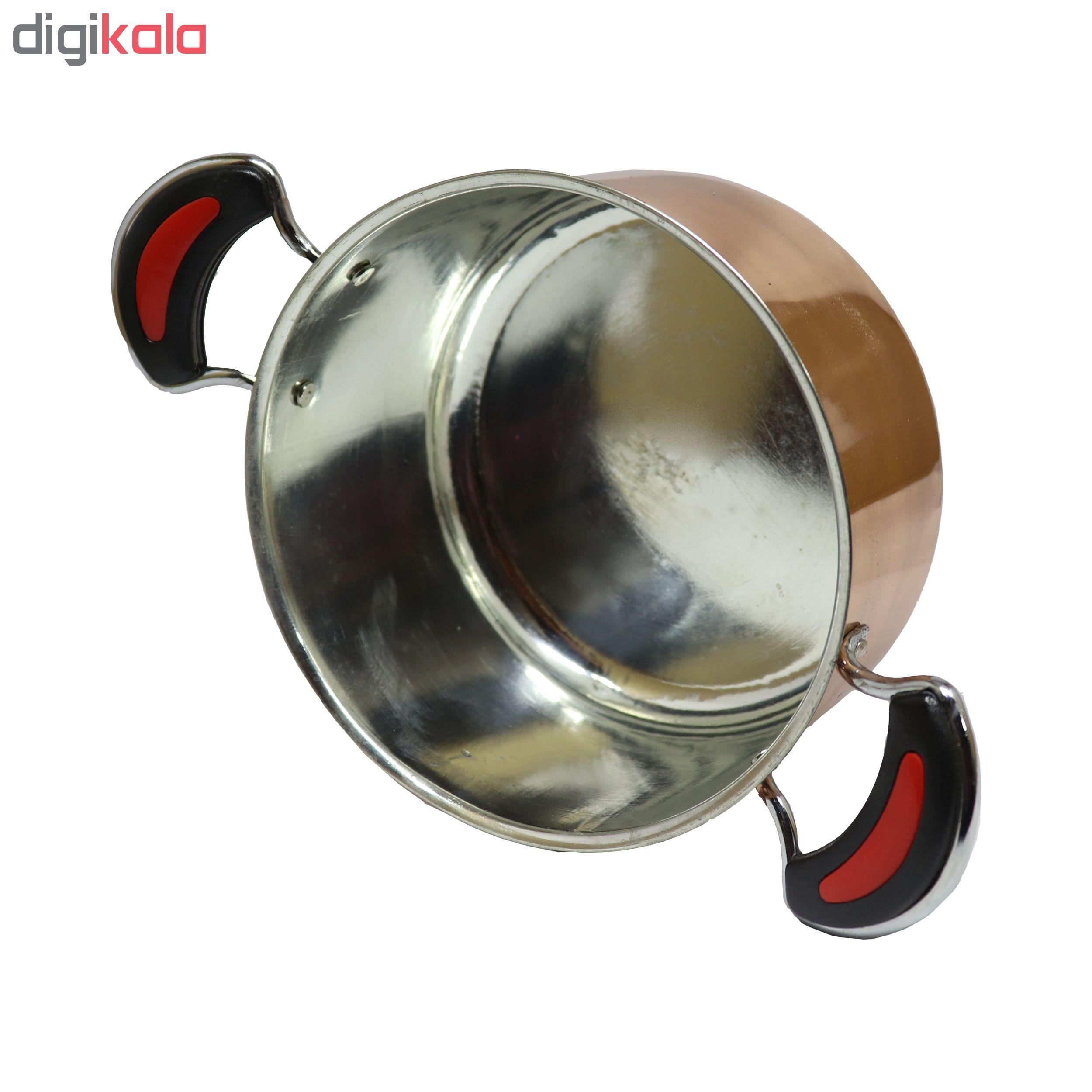 copper pan set, Model TORANG, Code 6