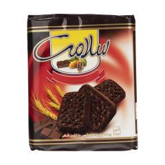 بیسکویت کاکائویی سلامت با تزئین شکر مقدار 1200 گرم