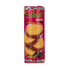 بیسکویت کرم دار کاکائویی سلامت مقدار 400 گرم