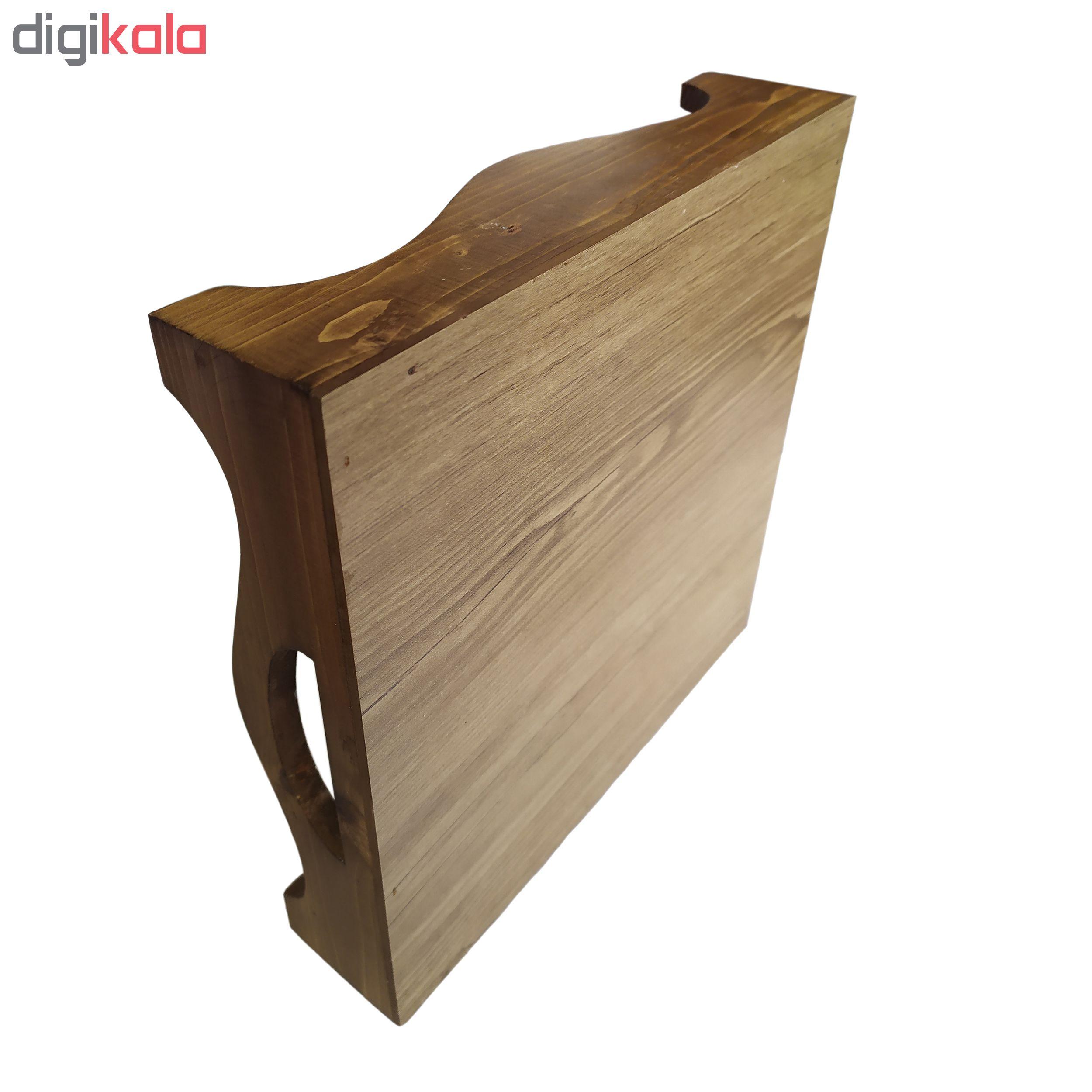 سینی کاشی کاری چوبی   کد 2020230
