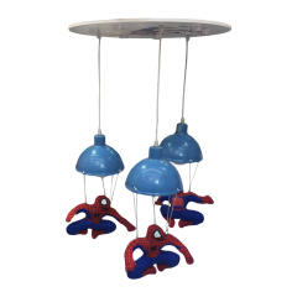 لوستر اتاق کودک طرح مرد عنکبوتی مدل 11251