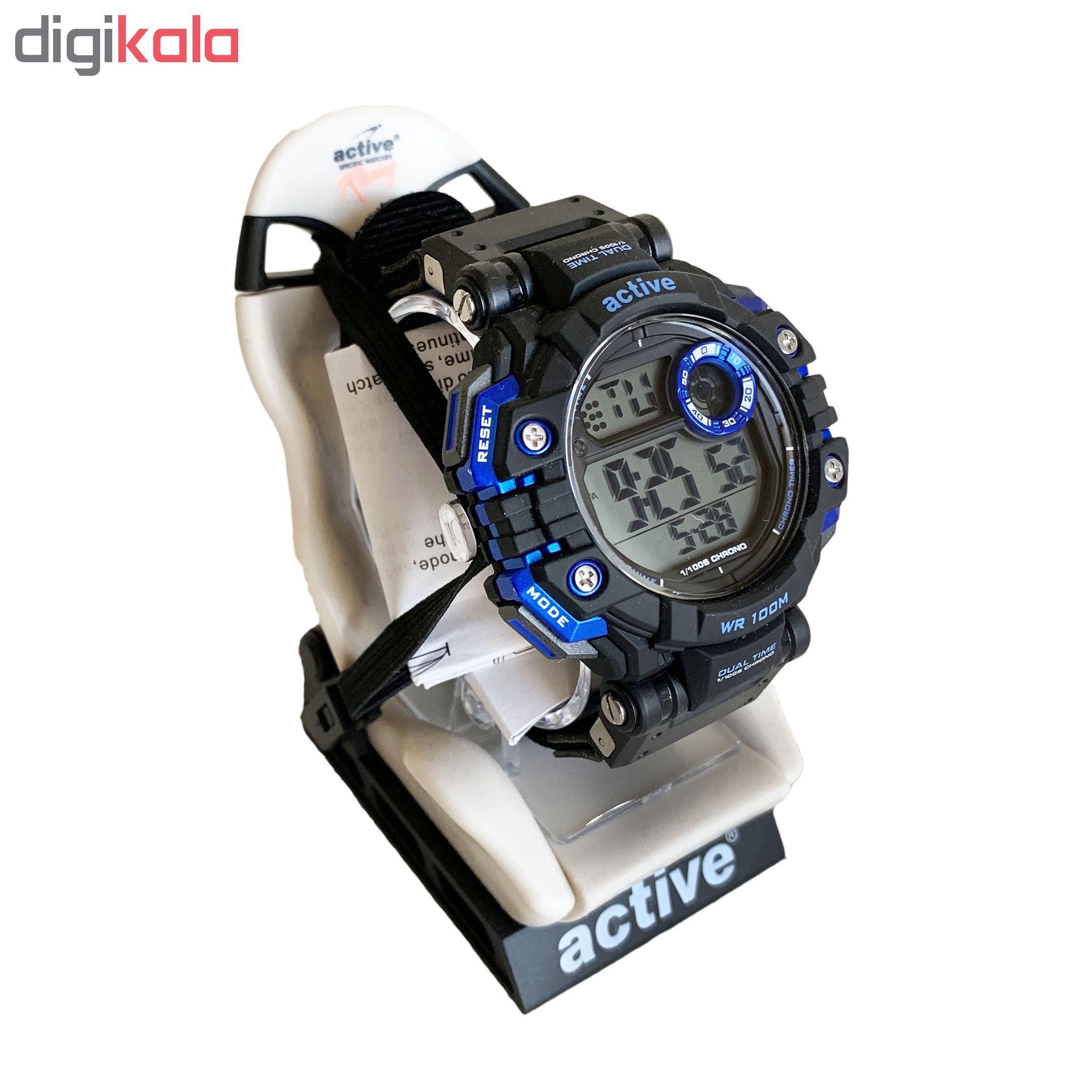 خرید ساعت مچی دیجیتال مردانه اکتیو مدل yp16700A-02