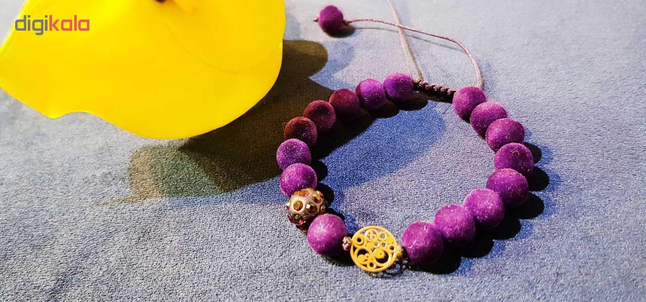دستبند طلا 18 عیار زنانه کانیار گالری DMM1