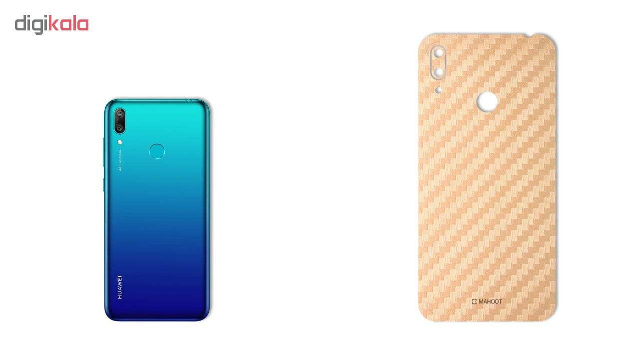 برچسب پوششی ماهوت مدل Carbon-Fiber مناسب برای گوشی موبایل هوآوی Y7 Prime 2019 main 1 4